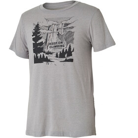 Royal Robbins Keep On Climbing Kortærmet T-shirt Herrer grå